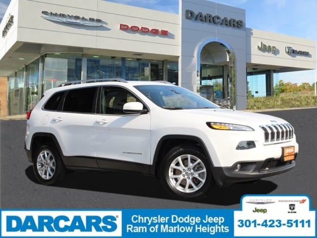 Certified 2015 Jeep Cherokee Latitude SUV in Temple Hills