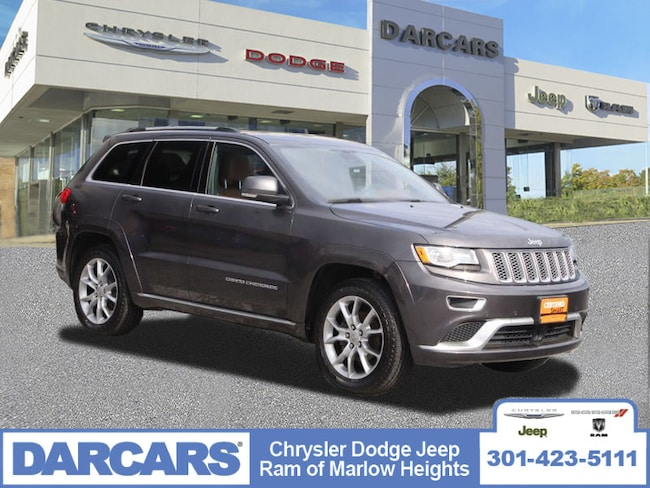 Certified 2016 Jeep Grand Cherokee Summit SUV in Temple Hills