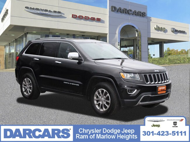 Used 2015 Jeep Grand Cherokee Limited SUV Temple Hills