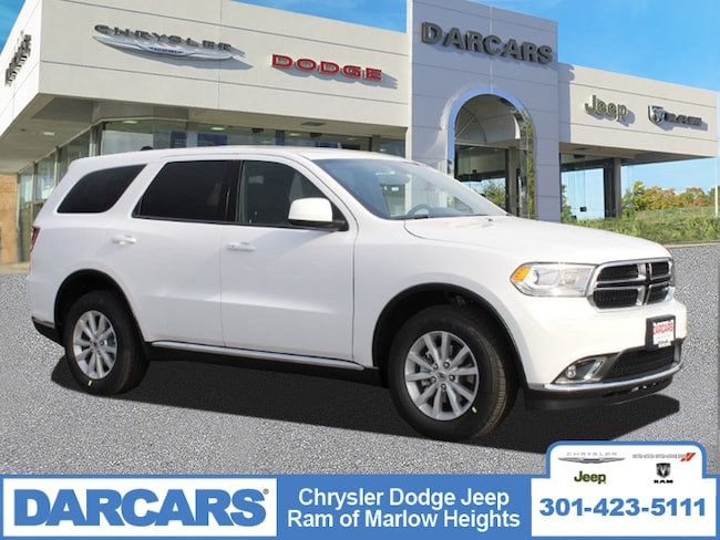 New 2019 Dodge Durango SXT AWD Sport Utility in Temple Hills, MD
