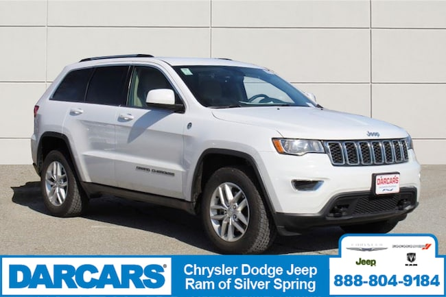Certified Pre-Owned 2018 Jeep Grand Cherokee Laredo 4x4 SUV in Silver Spring