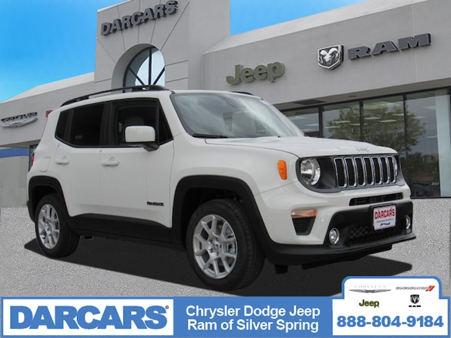 New 2019 Jeep Renegade LATITUDE 4X2 Sport Utility in Silver Spring, Maryland