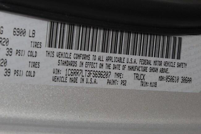 Used 2015 Ram 1500 For Sale at DARCARS Chrysler Dodge Jeep RAM of Silver  Spring | VIN: 1C6RR7LT3FS696207