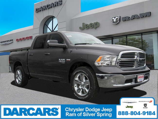 New 2019 Ram 1500 CLASSIC BIG HORN CREW CAB 4X4 5'7 BOX Crew Cab in Silver Spring, Maryland