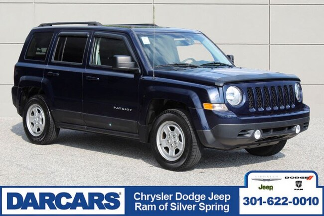 Certified Pre-Owned 2015 Jeep Patriot Sport SUV in Silver Spring