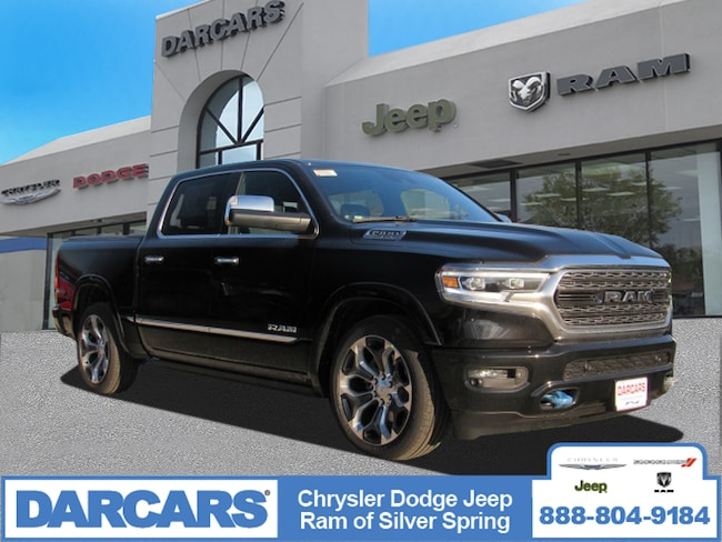 New 2019 Ram 1500 LIMITED CREW CAB 4X4 5'7 BOX Crew Cab in Silver Spring, Maryland