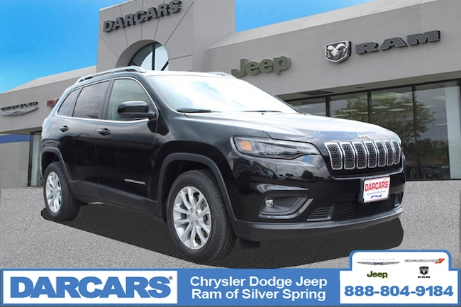 New 2019 Jeep Cherokee LATITUDE FWD Sport Utility in Silver Spring, Maryland