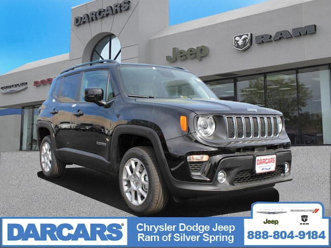 New 2019 Jeep Renegade LATITUDE 4X4 Sport Utility in Silver Spring, Maryland