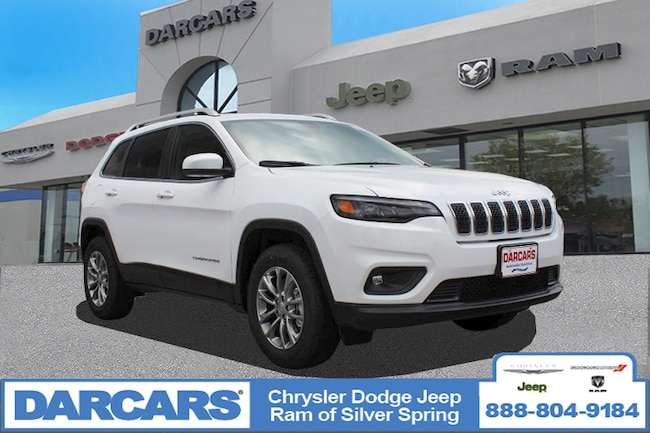 New 2019 Jeep Cherokee LATITUDE PLUS 4X4 Sport Utility in Silver Spring, Maryland