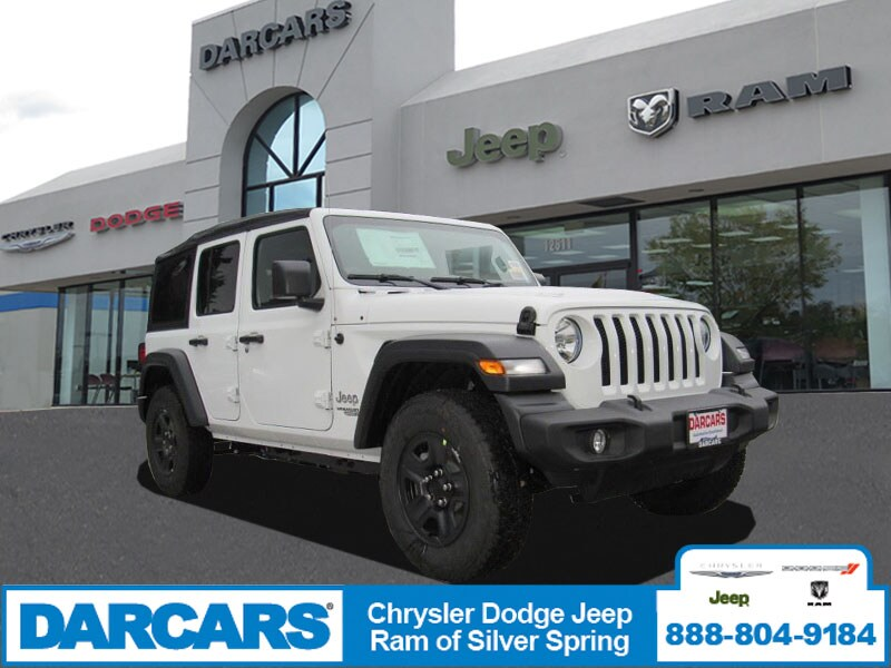 New 2018 Jeep Wrangler UNLIMITED SPORT 4X4 Sport Utility In Silver Spring,  Maryland