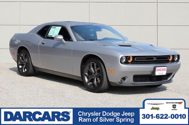 Certified Pre-Owned 2018 Dodge Challenger SXT Coupe in Silver Spring
