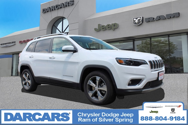 New 2019 Jeep Cherokee LIMITED FWD Sport Utility in Silver Spring, Maryland