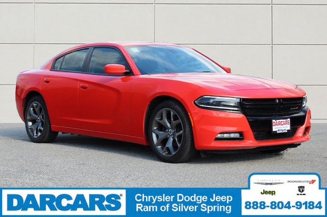 Certified Pre-Owned 2017 Dodge Charger SXT Sedan in Silver Spring