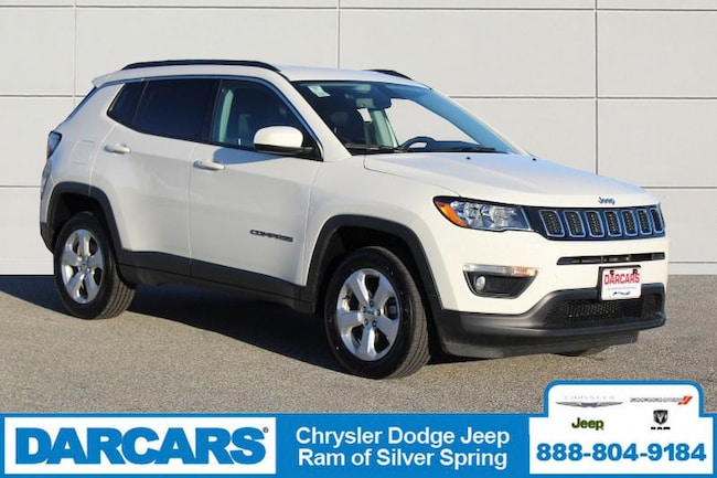 Used 2019 Jeep Compass Latitude 4x4 SUV Silver Spring