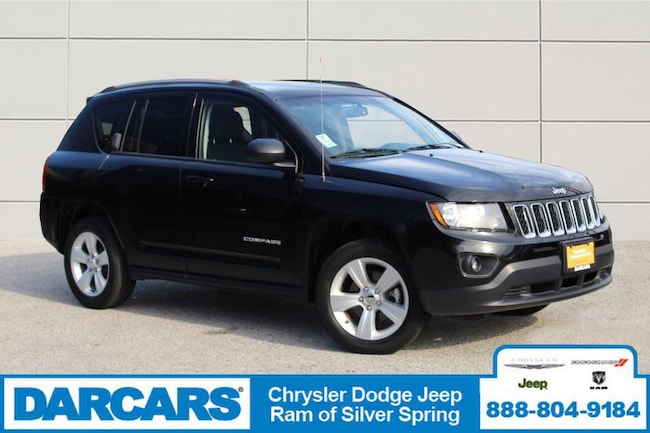 Used 2016 Jeep Compass Sport SUV Silver Spring