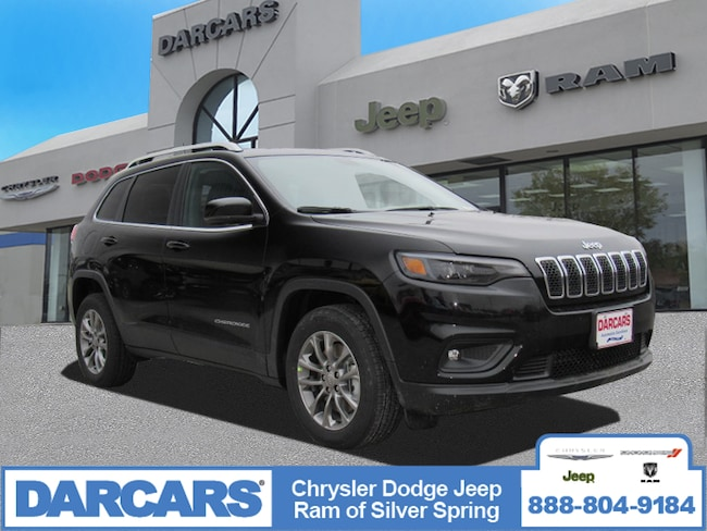 New 2019 Jeep Cherokee LATITUDE PLUS FWD Sport Utility in Silver Spring, Maryland