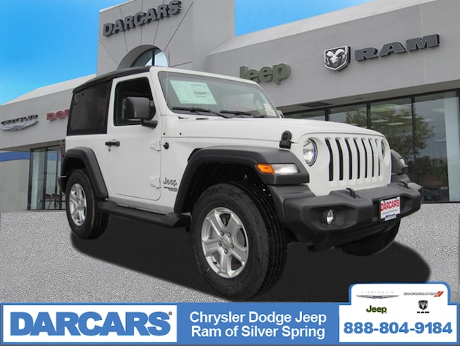 New 2018 Jeep Wrangler SPORT S 4X4 Sport Utility in Silver Spring, Maryland