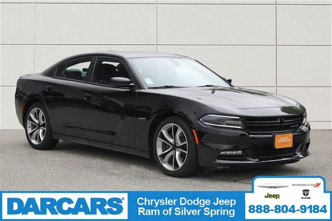 Used 2015 Dodge Charger R/T Sedan Silver Spring