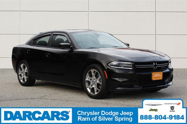 Used 2016 Dodge Charger SE Sedan Silver Spring