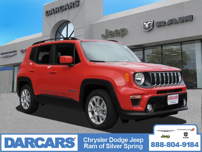 New 2019 Jeep Renegade LATITUDE FWD Sport Utility in Silver Spring, Maryland