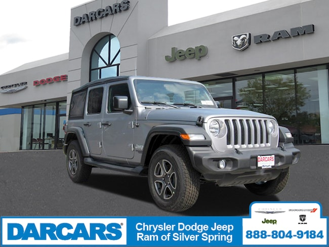 New 2018 Jeep Wrangler UNLIMITED SPORT S 4X4 Sport Utility in Silver Spring, Maryland