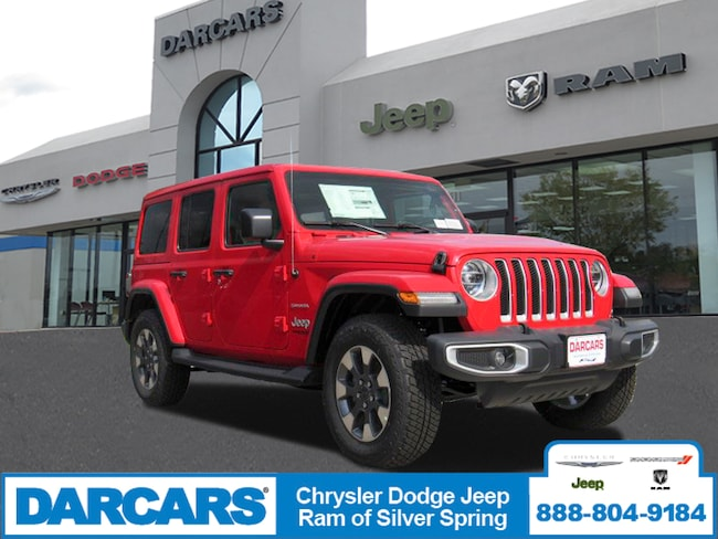 New 2018 Jeep Wrangler UNLIMITED SAHARA 4X4 Sport Utility in Silver Spring, Maryland