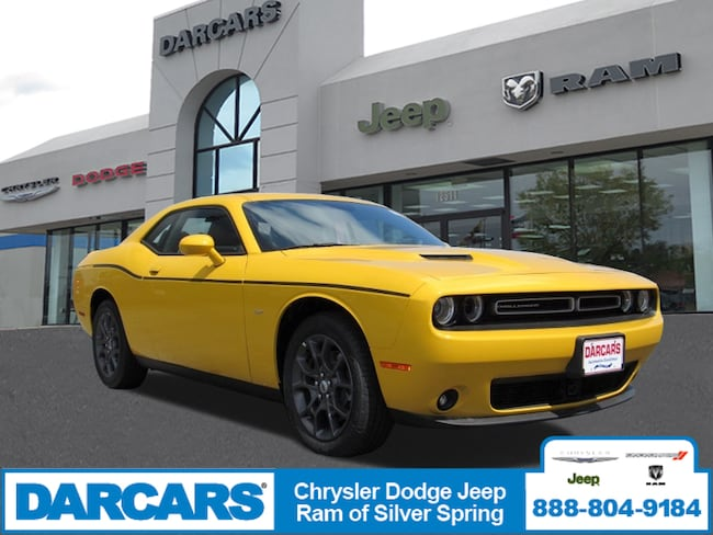 New 2018 Dodge Challenger GT ALL-WHEEL DRIVE Coupe in Silver Spring, Maryland