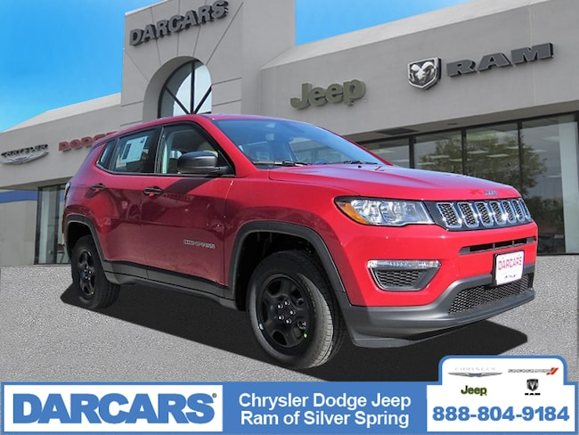 New 2019 Jeep Compass SPORT 4X4 Sport Utility in Silver Spring, Maryland