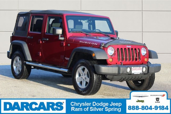 Used 2012 Jeep Wrangler Unlimited Rubicon SUV Silver Spring