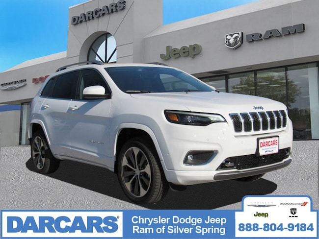 New 2019 Jeep Cherokee OVERLAND 4X4 Sport Utility in Silver Spring, Maryland