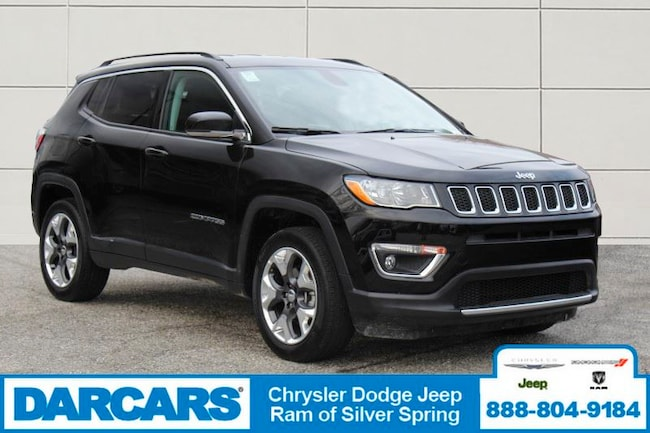 Certified Pre-Owned 2019 Jeep Compass Limited 4x4 SUV in Silver Spring