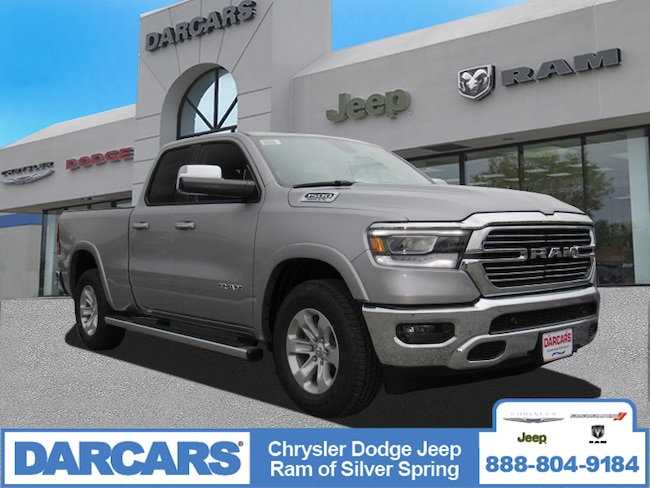 New 2019 Ram 1500 LARAMIE QUAD CAB 4X4 6'4 BOX Quad Cab in Silver Spring, Maryland