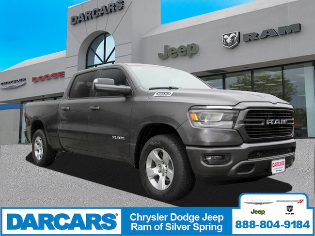 New 2019 Ram 1500 BIG HORN / LONE STAR CREW CAB 4X4 6'4 BOX Crew Cab in Silver Spring, Maryland