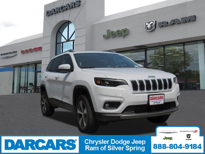 Great New 2019 Jeep Cherokee LIMITED 4X4 Sport Utility In Silver Spring, Maryland