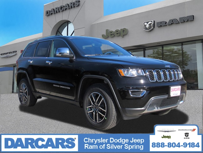 New 2019 Jeep Grand Cherokee LIMITED 4X4 Sport Utility in Silver Spring, Maryland