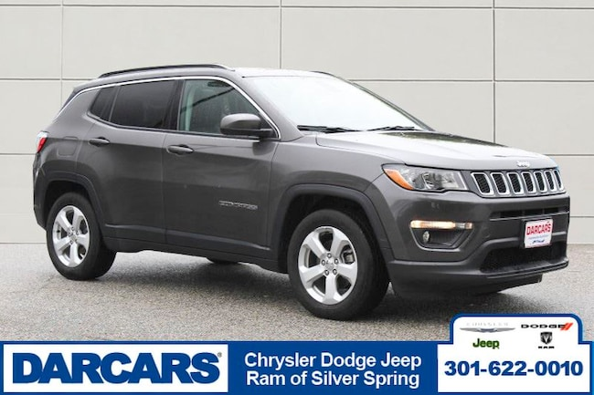 Used 2017 Jeep New Compass Latitude FWD SUV Silver Spring