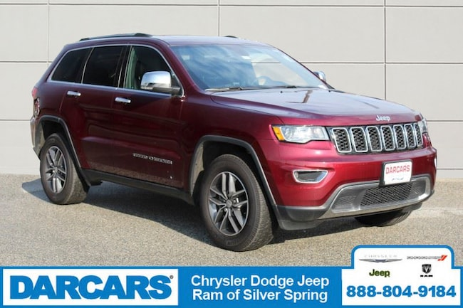 Used 2018 Jeep Grand Cherokee Limited 4x4 SUV Silver Spring
