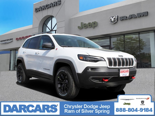 New 2019 Jeep Cherokee TRAILHAWK 4X4 Sport Utility in Silver Spring, Maryland