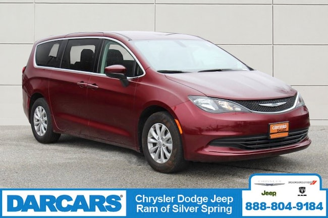 Used 2018 Chrysler Pacifica LX Van Silver Spring