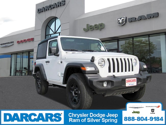 New 2018 Jeep Wrangler SPORT 4X4 Sport Utility in Silver Spring, Maryland