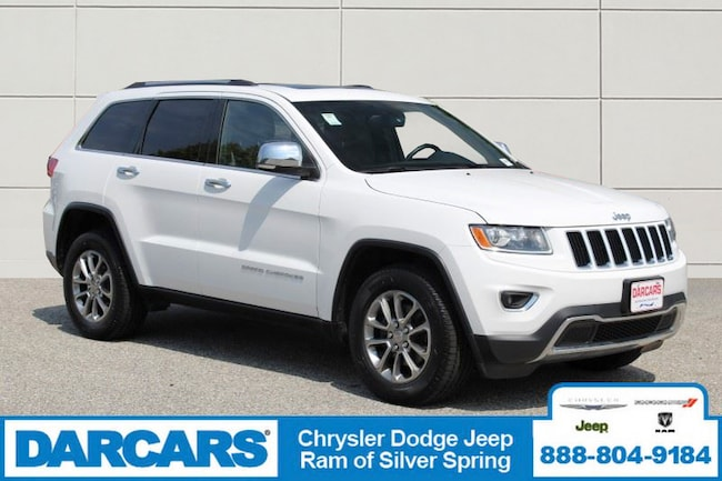 Used 2014 Jeep Grand Cherokee Limited 4x4 SUV Silver Spring