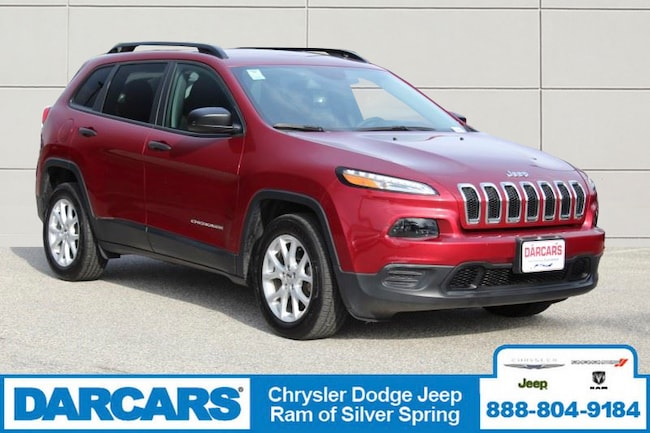 Certified Pre-Owned 2017 Jeep Cherokee Sport FWD SUV in Silver Spring