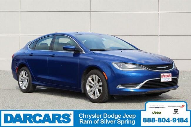 Used 2015 Chrysler 200 Limited Sedan Silver Spring