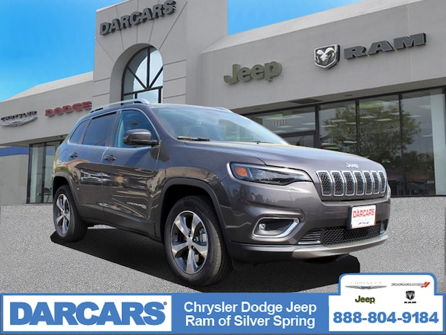 New 2019 Jeep Cherokee LIMITED 4X4 Sport Utility in Silver Spring, Maryland