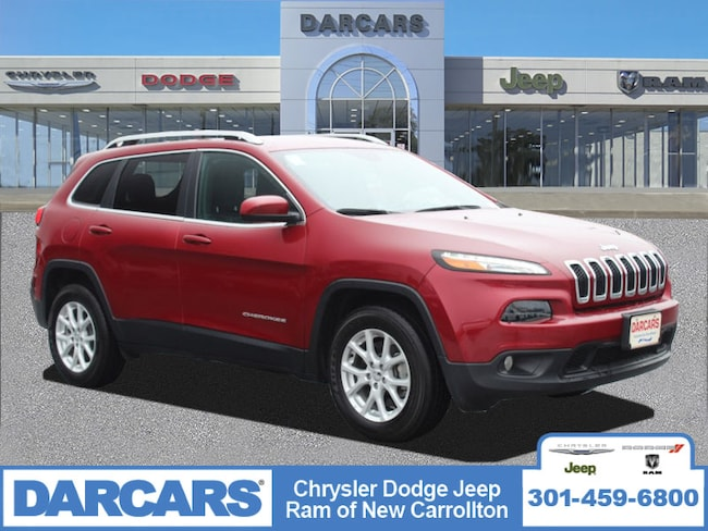 Certified Pre-Owned 2017 Jeep Cherokee Latitude 4x4 SUV in Silver Spring