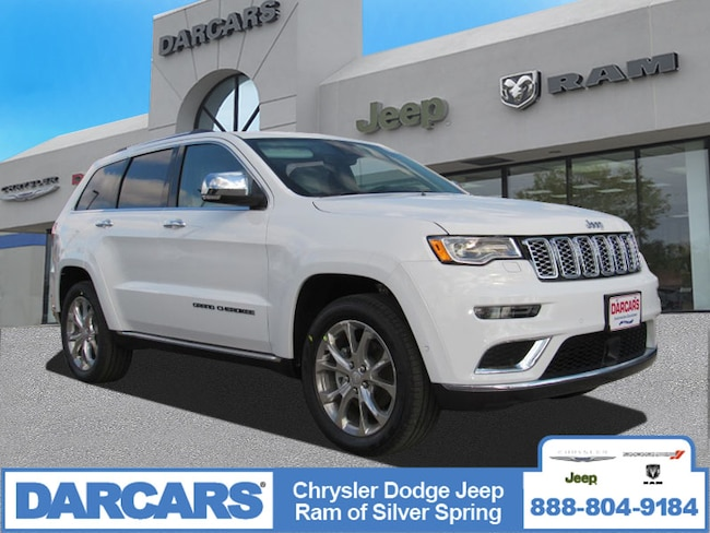 New 2019 Jeep Grand Cherokee SUMMIT 4X4 Sport Utility in Silver Spring, Maryland