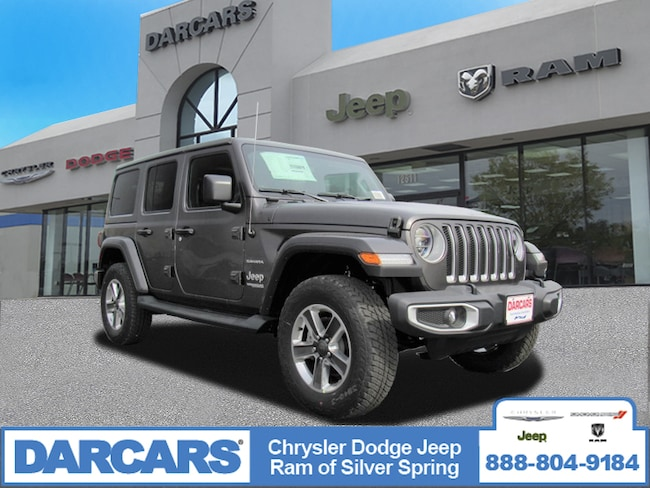 New 2019 Jeep Wrangler UNLIMITED SAHARA 4X4 Sport Utility in Silver Spring, Maryland