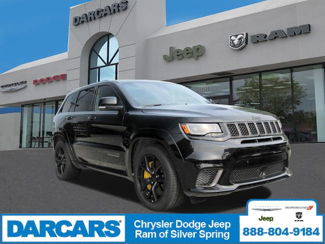 New 2018 Jeep Grand Cherokee TRACKHAWK 4X4 Sport Utility in Silver Spring, Maryland