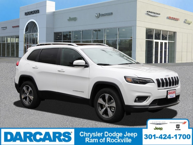 New 2019 Jeep Cherokee LIMITED 4X4 Sport Utility Rockville, MD