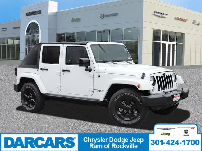 Used 2015 Jeep Wrangler Unlimited Altitude SUV Rockville, MD